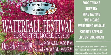 OKC Waterfall Festival tickets