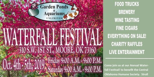 OKC Waterfall Festival