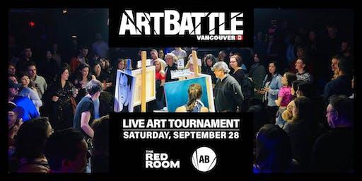 Art Battle Vancouver - September 28, 2019