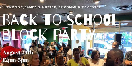 YMCA Back To School Block Party tickets