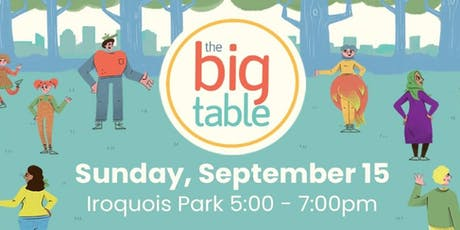 The Big Table Event tickets