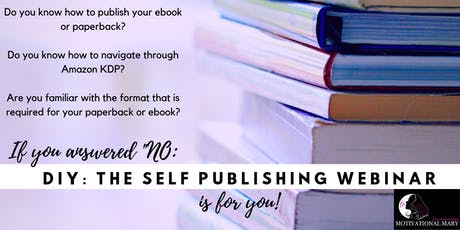 DIY: The Self Publishing Webinar tickets