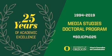 SOJC PhD 25th Anniversary tickets