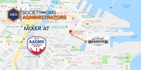 2019 AAOMS Mixer tickets