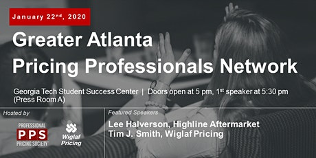 Greater Atlanta Pricing Professionals Network, January 2020 - Featuring Lee Halverson of Highline Aftermarket tickets