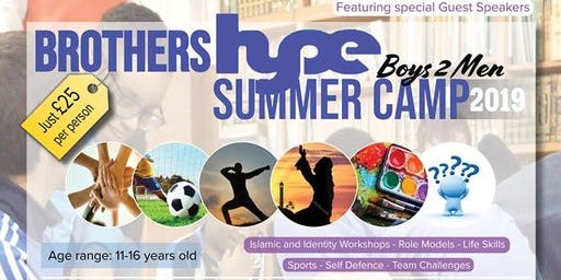 HYPE Summer Camp - Brothers