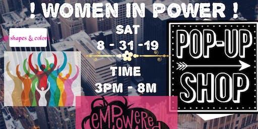 Women In Power Pop Up Shop