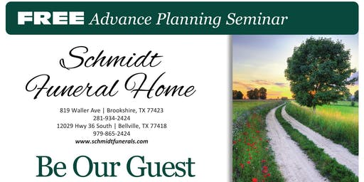 Free Advance Planning Seminar