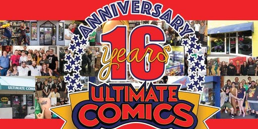 Ultimate Comics 16th Anniversary Party
