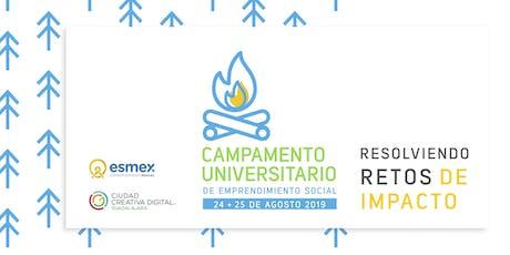 Campamento Universitario de Emprendimiento Social  tickets