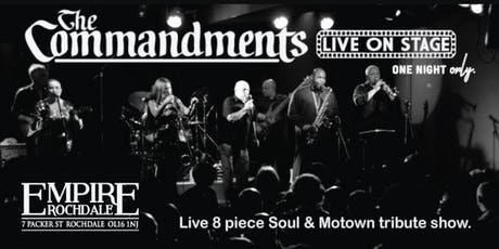 The Commandments - Live 8 piece Motown & Soul show tickets