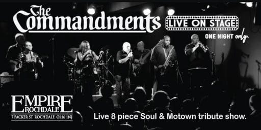 The Commandments - Live 8 piece Motown & Soul show