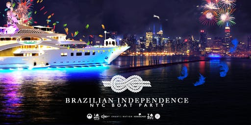 3 DAY BRAZILIAN DAY CELEBRATION Yacht Cruise FESTIVAL - Labor Day Weekend NYC Boat Party