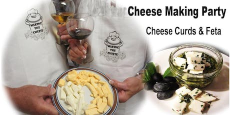 QUICK CHEDDAR Cheese curd bites & FETA cheese - 2 CHEESES IN 2 HOURS tickets