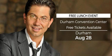 (FREE) Millionaire Success Habits revealed in Durham by Dean Graziosi tickets