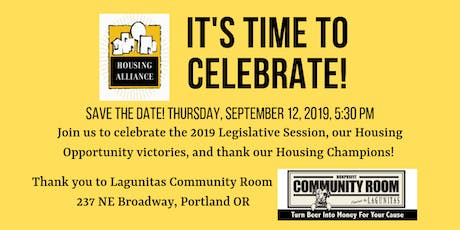 2019 Oregon Housing Alliance Legislative Celebration Party tickets