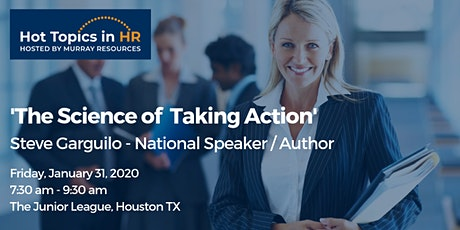 Hot Topics in HR: The Science of Taking Action tickets