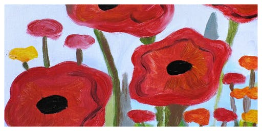 Parent & Child Create Night- Floral Painting (5-12 Years)