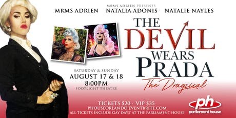 The Devil Wears Prada: The Dragsical tickets