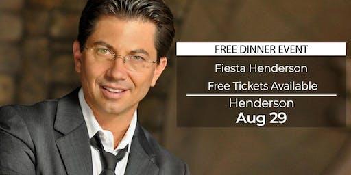 (FREE) Millionaire Success Habits revealed in Henderson by Dean Graziosi