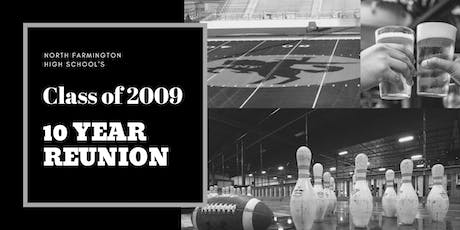 NFHS Class of 2009 10 Year Reunion tickets