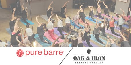 Pure Barre at Oak & Iron Brewing Co. tickets