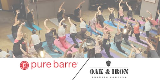 Pure Barre at Oak & Iron Brewing Co.