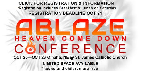 Annual Ablaze Conference : Heaven Come Down tickets