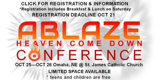 Annual Ablaze Conference : Heaven Come Down