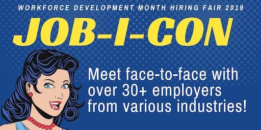 4th Annual Job-I-Con: Hiring Fair 2019