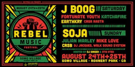 Rebel Music Festival @ SOMO tickets