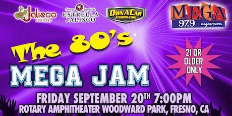 80's Mega Jam tickets