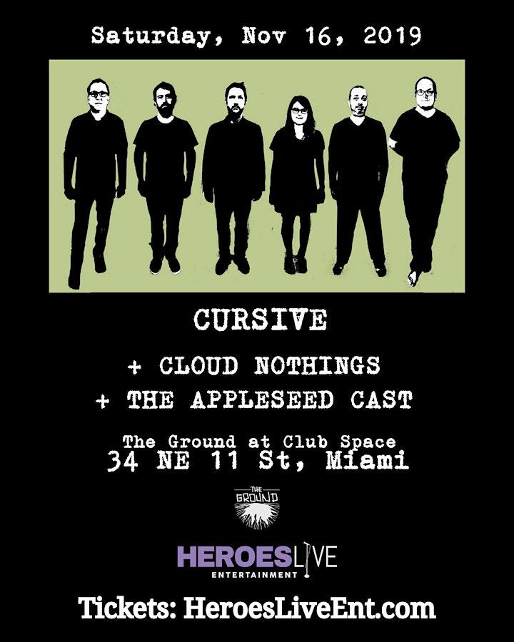 Cursive + Cloud Nothings image