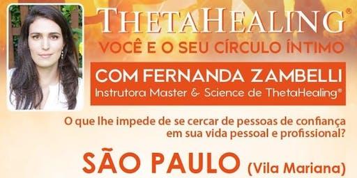 Curso ThetaHealing® VOCÊ E SEU CÍRCULO ÍNTIMO