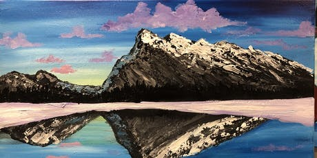 Rundle Mountain Paint Night Banff tickets