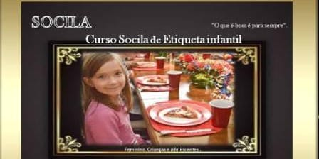 CURSO DE ETIQUETA SOCILA PARA CRIANÇAS