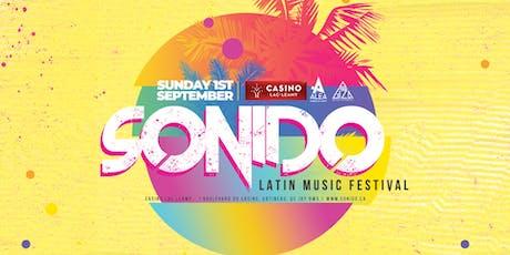 Sonido Latin Music Festival tickets