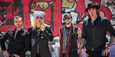 ENUFF Z NUFF in PDX with Poison'us