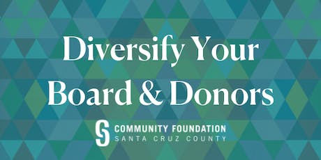 Steps to Diversify Your Board & Donor Base tickets
