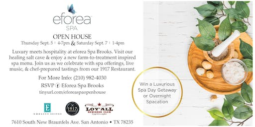 eforea Spa Brooks Open House