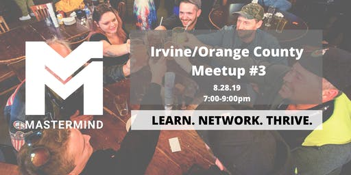 Irvine/ Orange County Home Service Professional Networking Meetup  #3