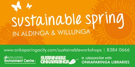 Sustainable Spring: Magic Little Meals - Aldinga Library tickets