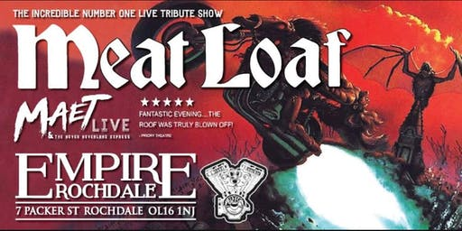 Meat Loaf - Number 1 Tribute Show Maet Live