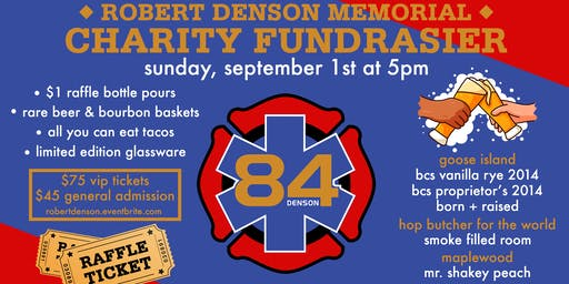 Robert Denson Memorial Charity Fundraiser