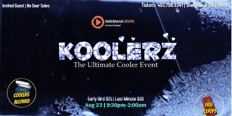 Koolerz (The Ultimate Cooler Event) tickets