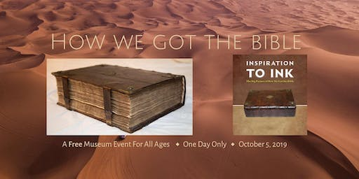How We Got the Bible Museum Event