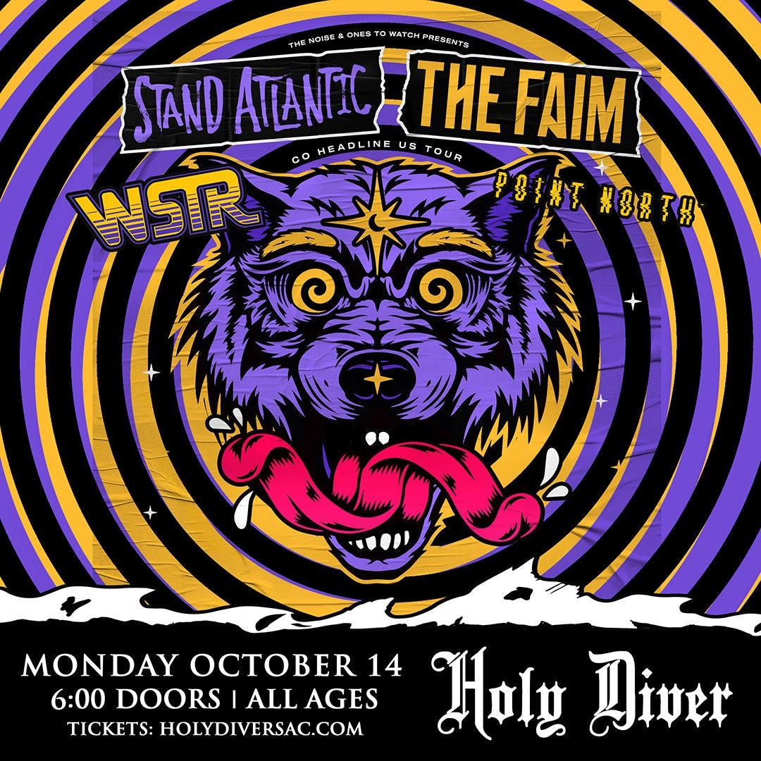 The Noise & Ones To Watch Present: The Faim & Stand Atlantic