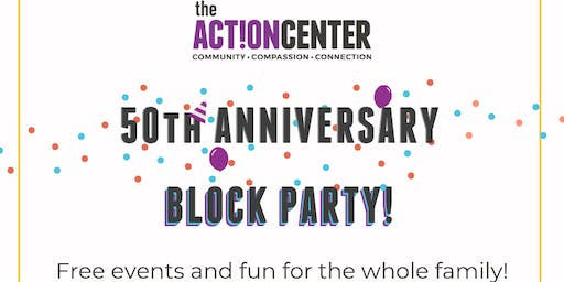 The Action Center's 50th Anniversary Block Party - Ribbon Cutting