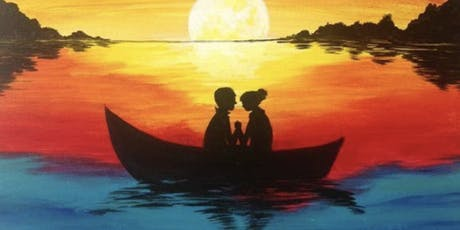 CENTRAL PARK SIP & PAINT A ROMANTIC SUNSET!! ~ Sept 15 Sun. Aft. B.Y.O.B.  tickets
