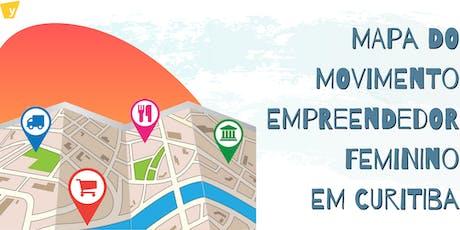 Mapa do Ecossistemas de Empreendedorismo Feminino em Curitiba e Região ingressos